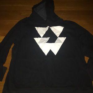American Eagle Thin Hooded Sweatshirt Men's Large